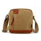 Canvas book school bag
