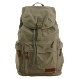Canvas backpack, canvas rucksack backpack