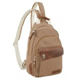 Canvas rucksack for women