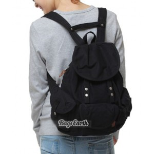 black backpack for girls