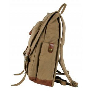 khaki Backpack for school