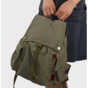 army green Backpack school