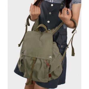 army green backpack for college
