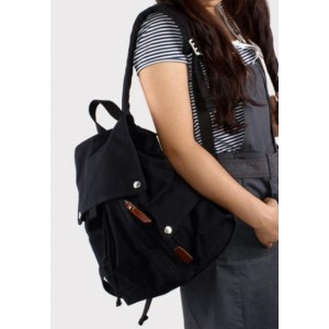 black backpack for college