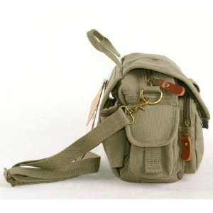 army green Bike messenger bag