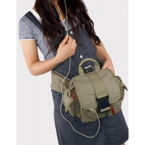 canvas waist pack for hiking