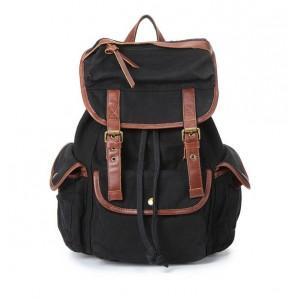 black Backpack for high school