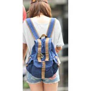 blue Backpack for teenage girls