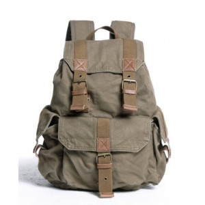 army green backpack for travel