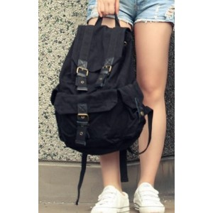 black Backpack for teenage girls