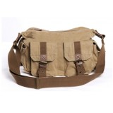 khaki Stylish messenger bag