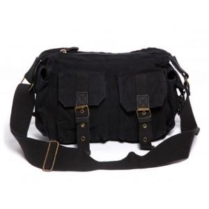 black Stylish messenger bag