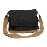 black Travel messenger bag