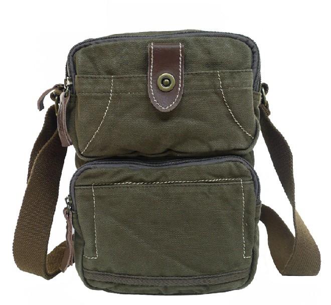 Vertical messenger bag for men, unique messenger bag - BagsEarth