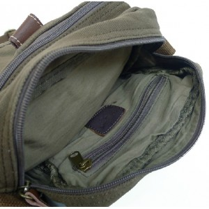 army green unique messenger bag