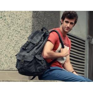 grey Backpack for men