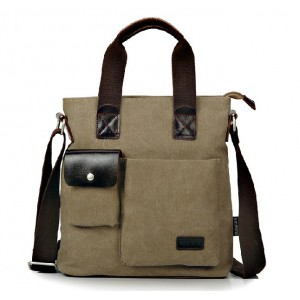 Top messenger bag, shoulder messenger canvas bag