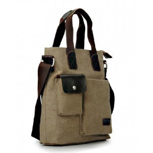 shoulder messenger canvas bag