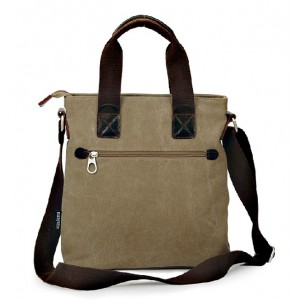khaki Top messenger bag