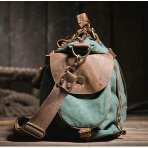 green Shoulder messenger bag