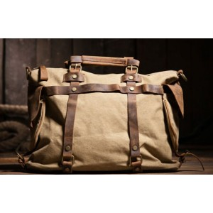 khaki Shoulder messenger bag