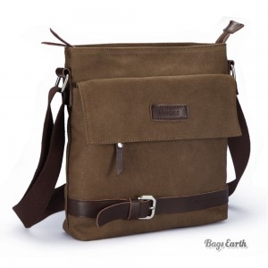 canvas shoulder bags for men