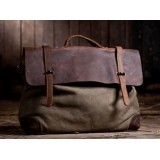 Shoulder bag men, school chic satchel