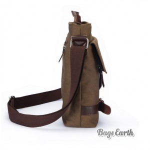 mens canvas shoulder bag