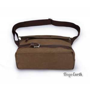 mens canvas shoulder bag uk