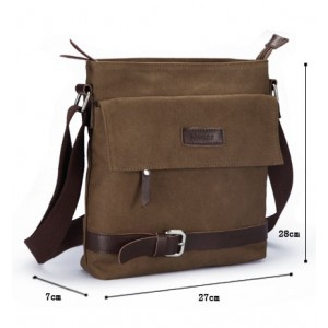 canvas shoulder bag men uk