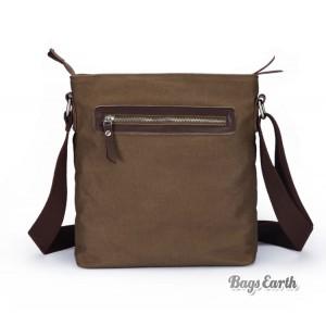 canvas shoulder bag men