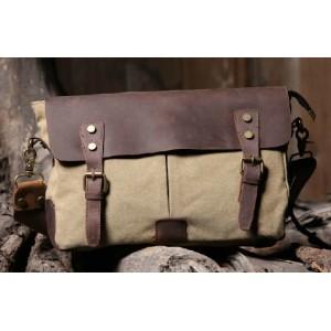 Retro messenger bag, promotional messenger bag