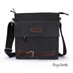 small canvas shoulder bag