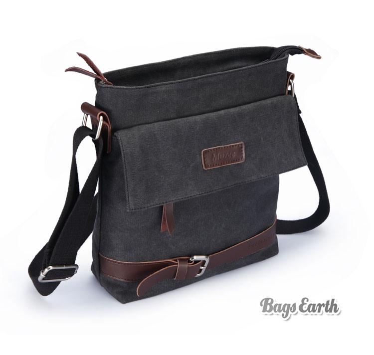 canvas shoulder bag women