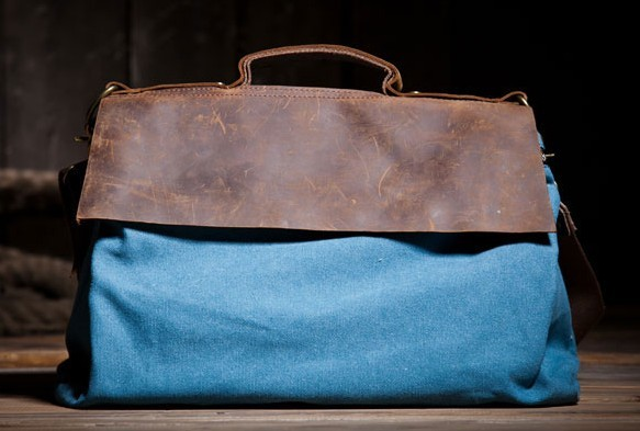 Blue Over The Shoulder Bag 40