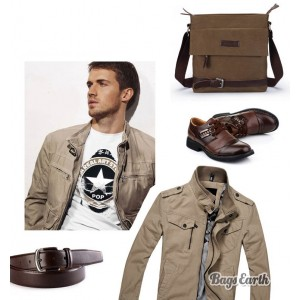 mens small canvas shoulder bags