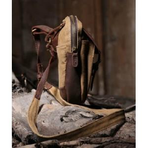 khaki Messenger bags for school girls