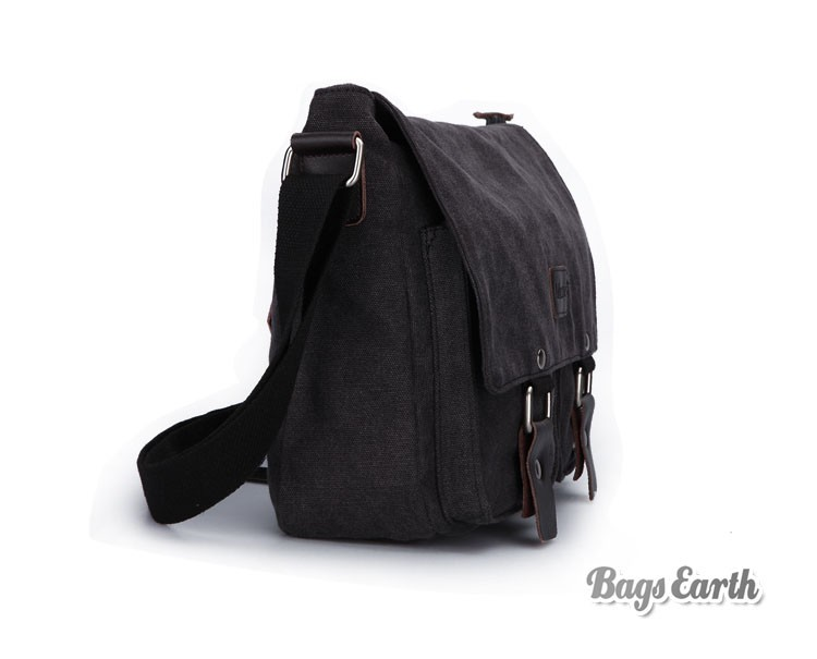 ... Men Canvas Satchel Bag ...