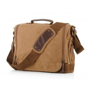 yellow Messenger bags for men canvas