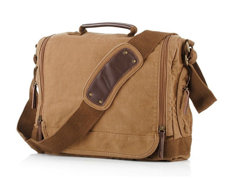 Messenger bags for men canvas, messenger bags for laptops - BagsEarth