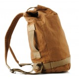 Vintage canvas backpack for men