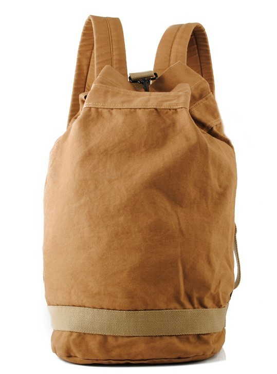 Vintage canvas backpack for men, travel backpack - BagsEarth