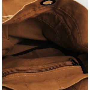 canvas Vintage canvas backpack for men
