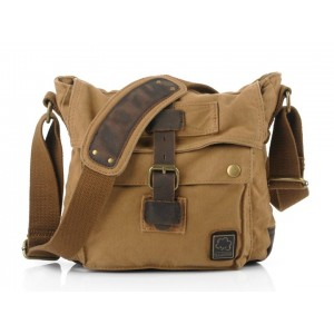 Small messenger bags for men, small canvas messenger bag
