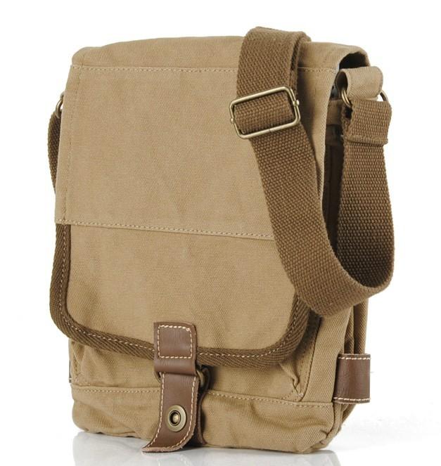 Travel messenger bag, small messenger bag - BagsEarth