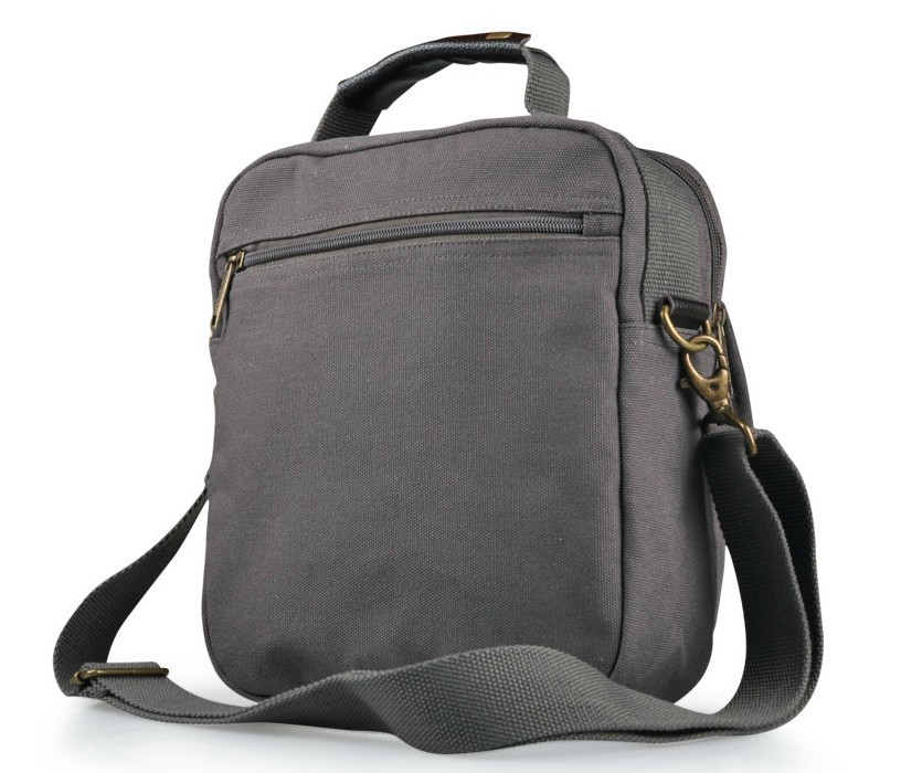 Mens shoulder bags, mens messenger bags canvas - BagsEarth