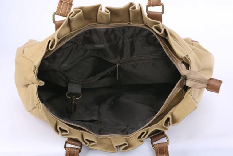 Canvas handbags women, canvas purses bags - BagsEarth