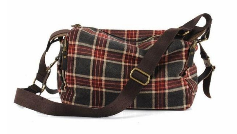 Ladies satchel bag, book messenger bag - BagsEarth