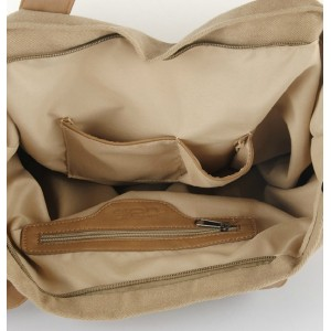 khaki men shoulder bag