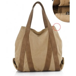 canvas men shoulder bag